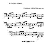 Air de Procession by Alexandre Guilmant