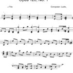 Opus 126, No. 1 by Ludwig van Beethoven